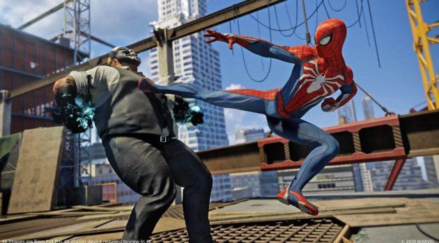 spiderman 2018