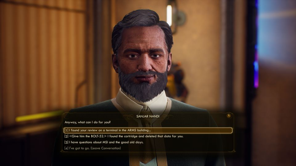 Bolt With His Name The Outer Worlds Walkthrough