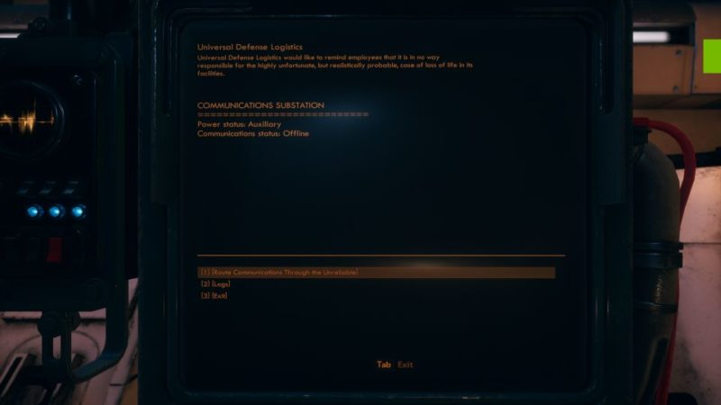 the outer worlds - kept secret but not forgotten mission walkthrough