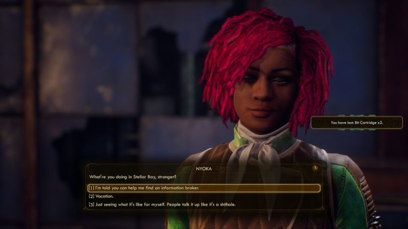 the outer worlds - radio free monarch mission