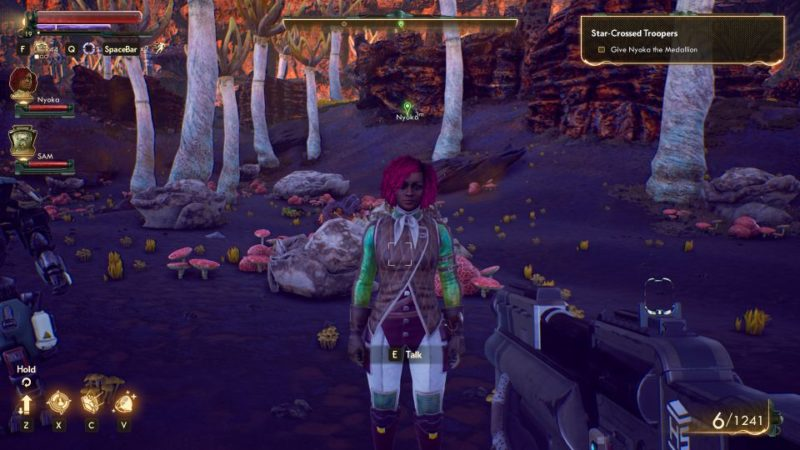 the outer worlds - star-crossed troopers quest guide