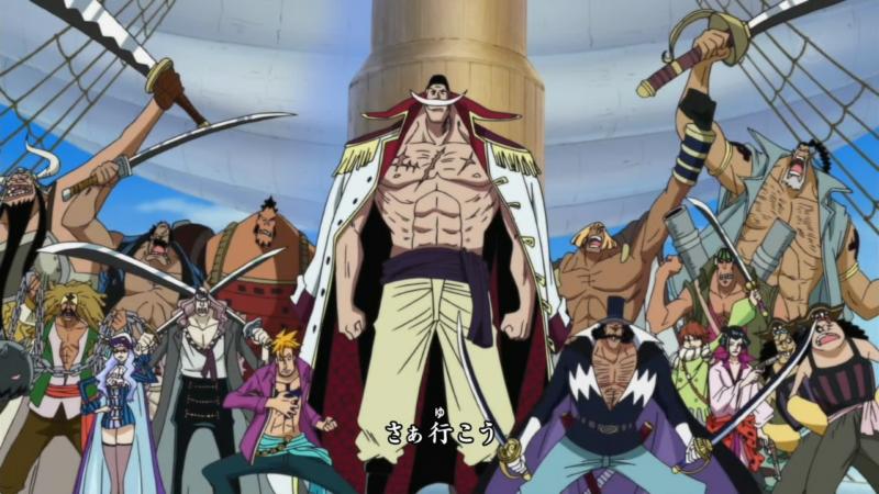 one piece strongest pirate crew