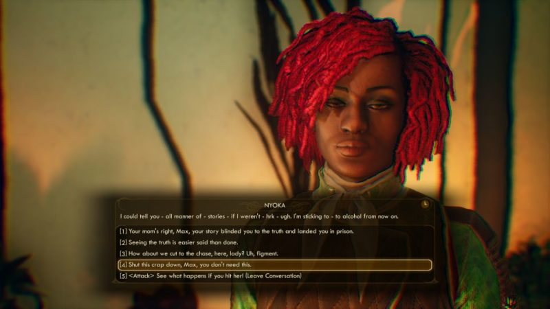 how to get nyoka in outer worlds