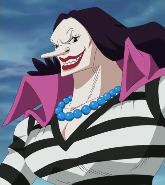 strongest female char in one piece