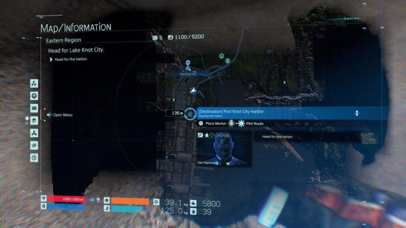 death stranding order 16 - head to lake city