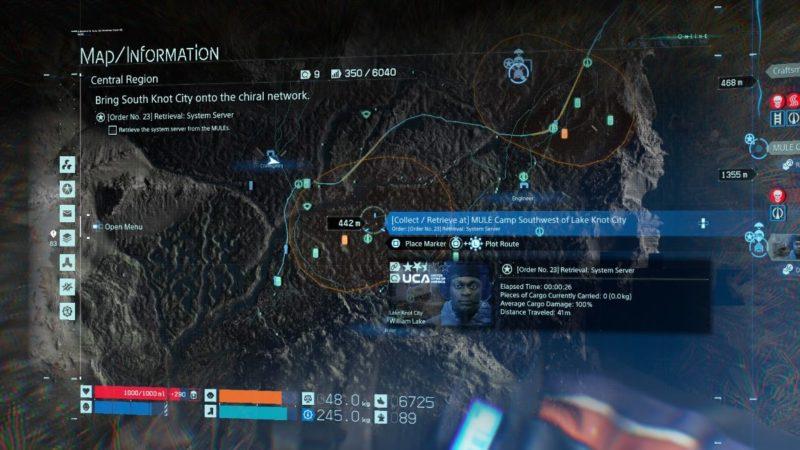 death stranding order 23 (system server)