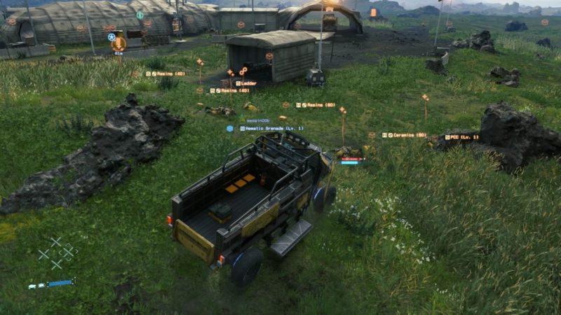 death stranding order 23 (system server) mission guide