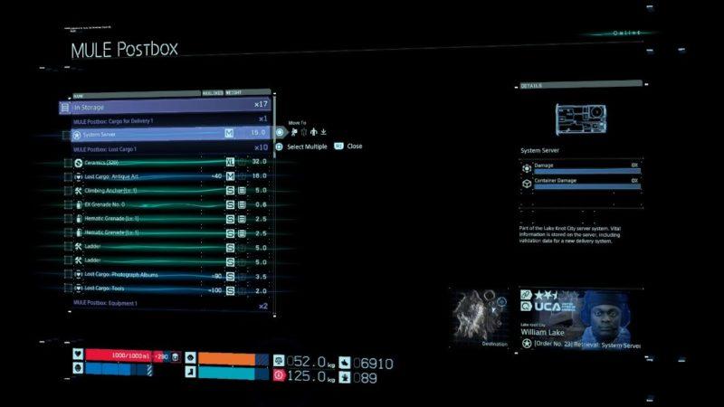 death stranding order 23 (system server) walkthrough