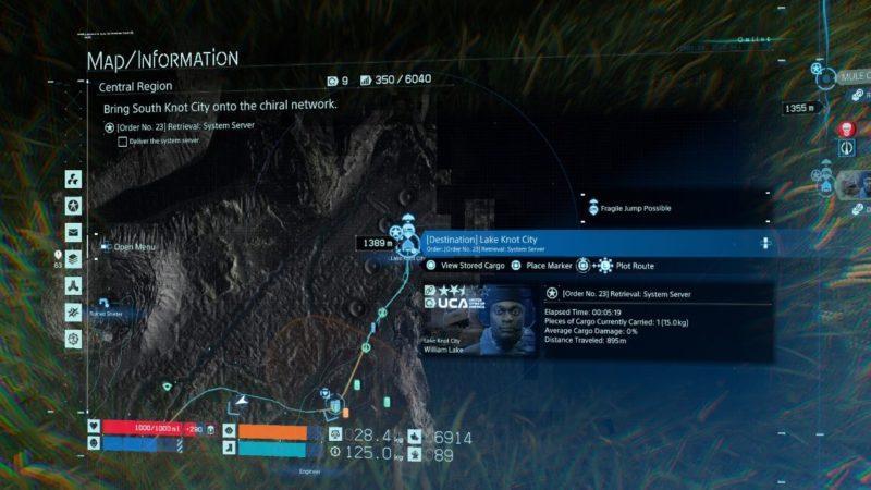 death stranding order 23 (system server) wiki
