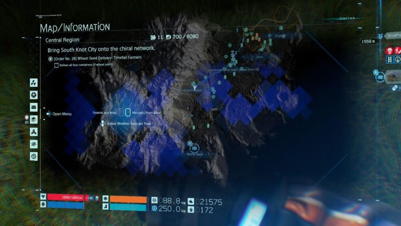 death stranding order 28 - wheat seed delivery guide