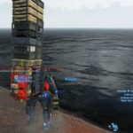 death stranding order 38 (emergency) throw bomb at lake