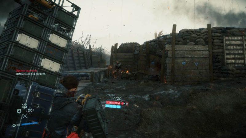 death stranding order 39 - escape the battlefield wiki