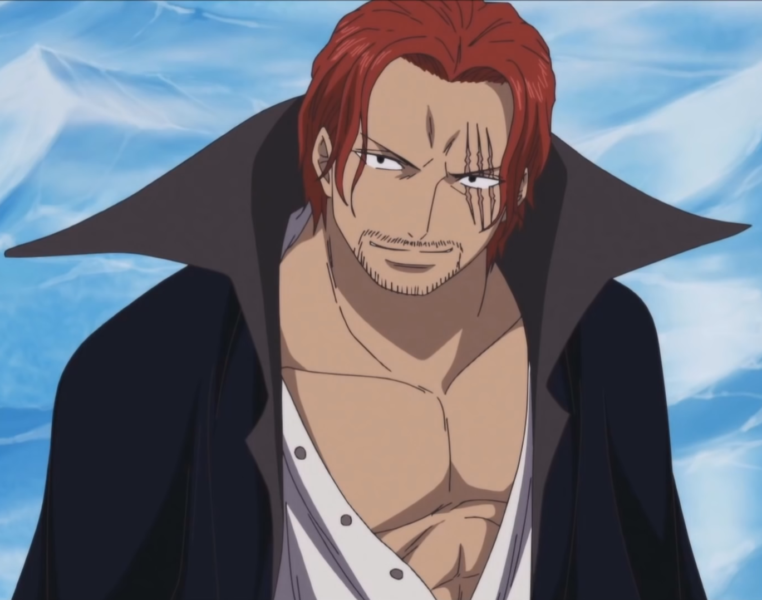 one piece characters with conqueror haki