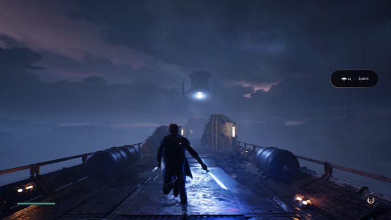 star wars jedi fallen order - escape train mission