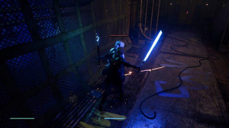 star wars jedi fallen order - escape train quest