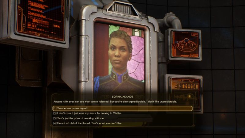 the outer worlds - the puppet masters tips