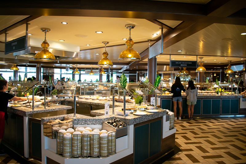 quantum of the seas buffet review