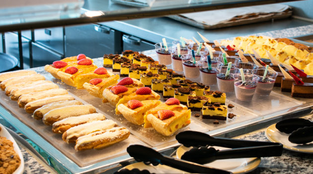 quantum of the seas - windjammer - what food to expect