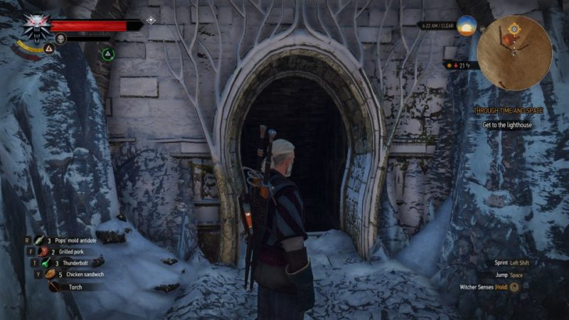The great escape witcher 3
