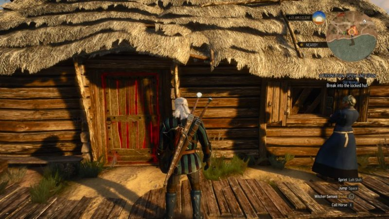 a frying pan, spick and span witcher 3 guide