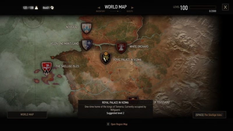 brothers in arms nilfgaard - witcher 3 how to get emperor help