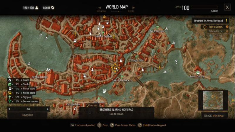 brothers in arms novigrad - witcher 3 guide