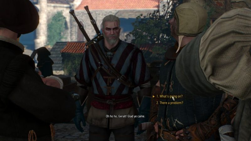 brothers in arms novigrad - witcher 3 quest