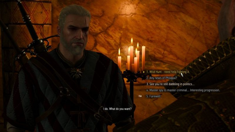 brothers in arms novigrad - witcher 3 recruit ves