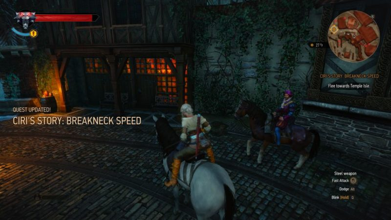 ciri's story - breakneck speed witcher 3 walkthrough