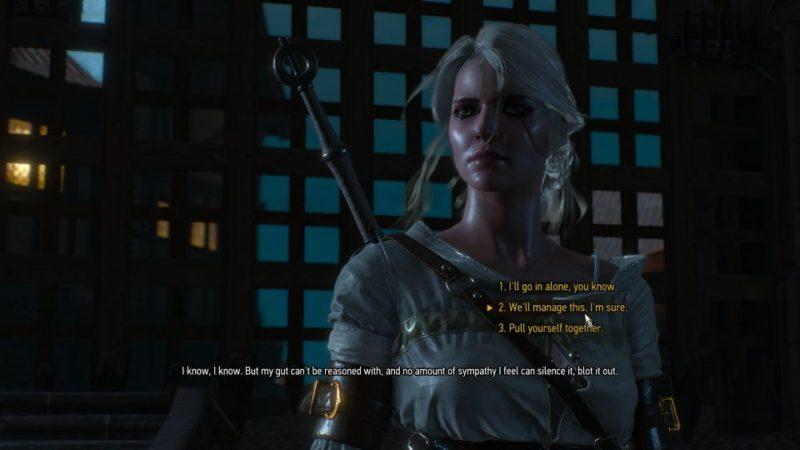 ciri's story visiting junior - witcher 3