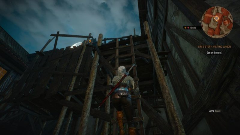 ciri's story visiting junior - witcher 3 guide