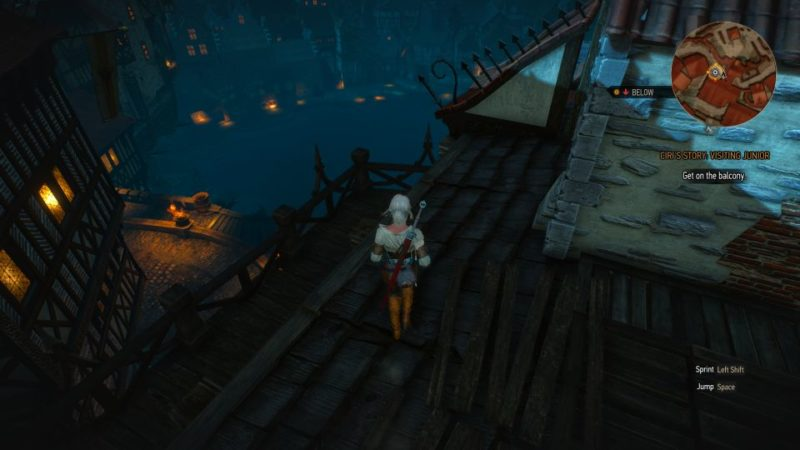 ciri's story visiting junior - witcher 3 guide tips