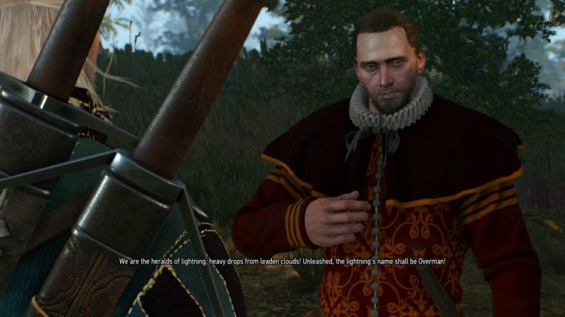 defender of the faith - witcher 3 side quest