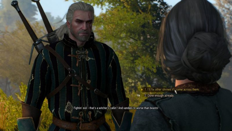 defender of the faith - witcher 3 walkthrough