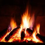 electric fireplace vs wood burning fireplace
