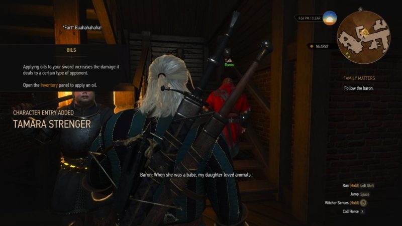 family matters - the witcher 3 guide