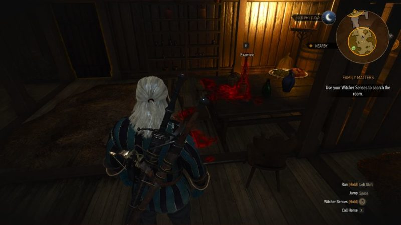 family matters - the witcher 3 mission guide