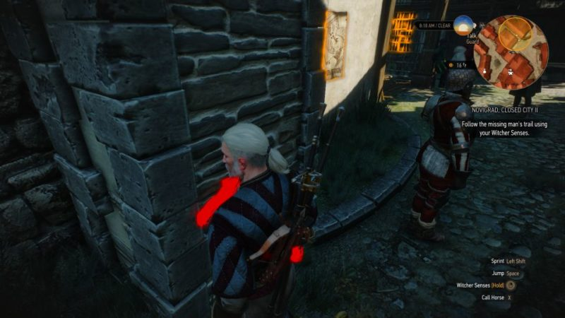 novigrad, closed city II - witcher 3 quest guide