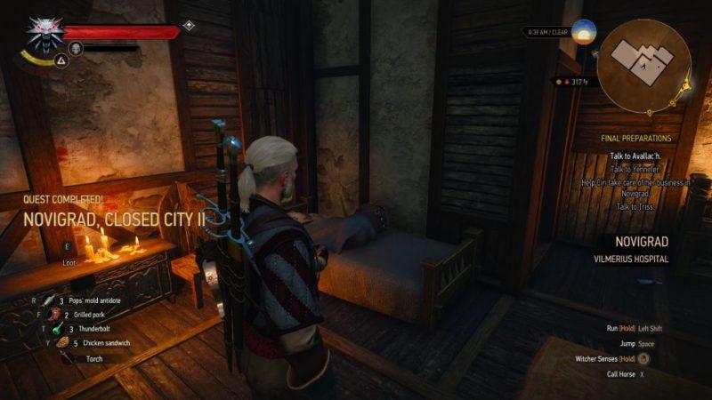 novigrad, closed city II - witcher 3 tips