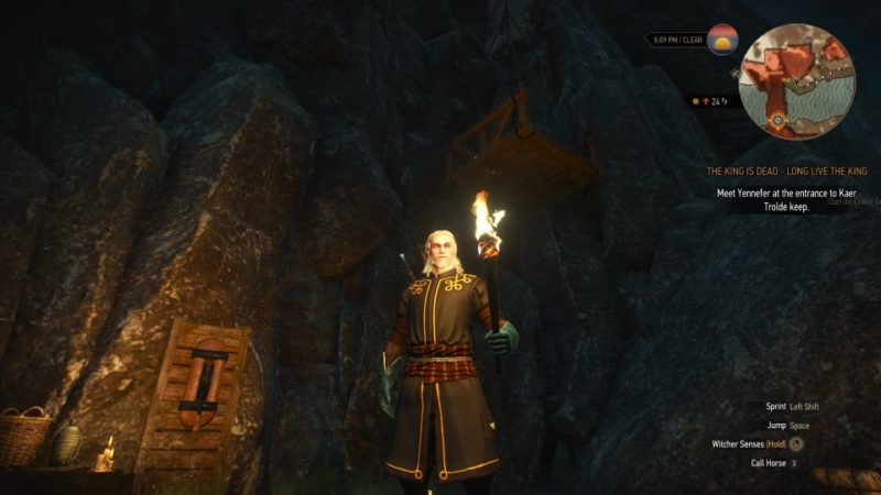 the king is dead, long live the king - witcher 3 quest walkthrough