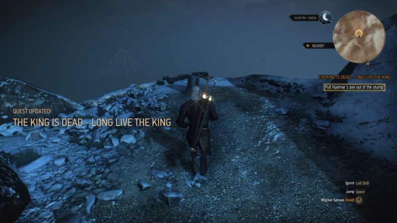the king is dead, long live the king - witcher 3 tips
