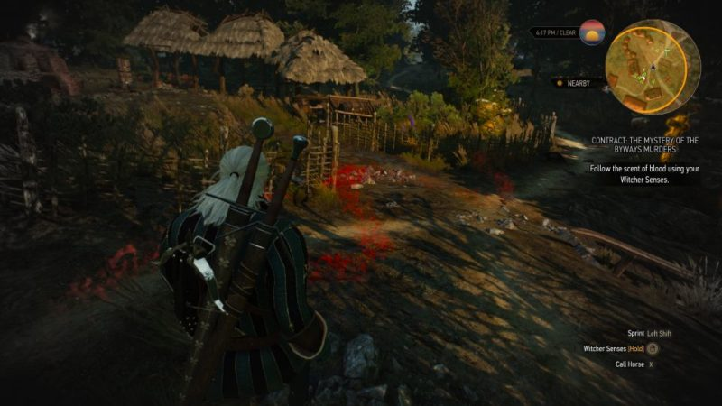 the mystery of the byways murders - witcher 3 quest walkthrough