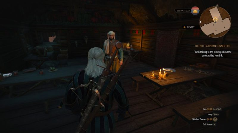 the nilfgaardian connection - witcher 3 mission