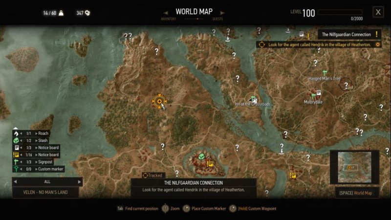 the nilfgaardian connection - witcher 3 mission guide