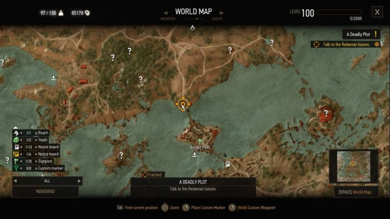 the witcher 3 - a deadly plot quest guide