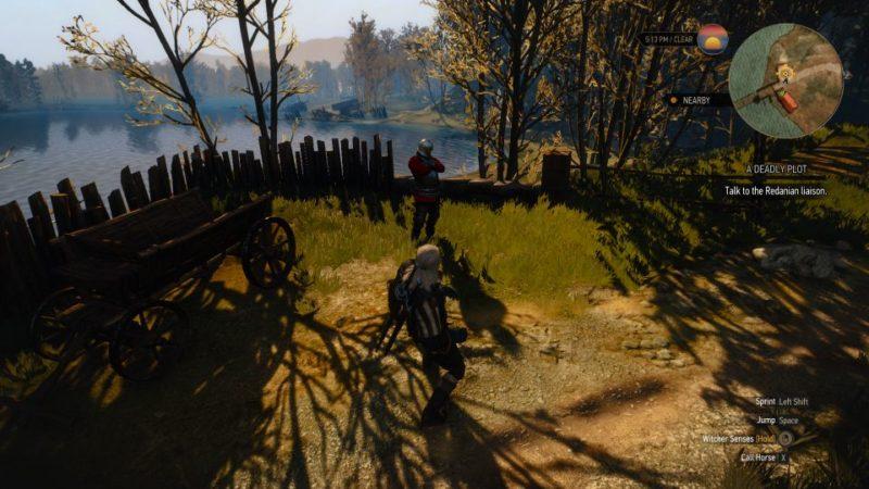 the witcher 3 - a deadly plot quest walkthrough