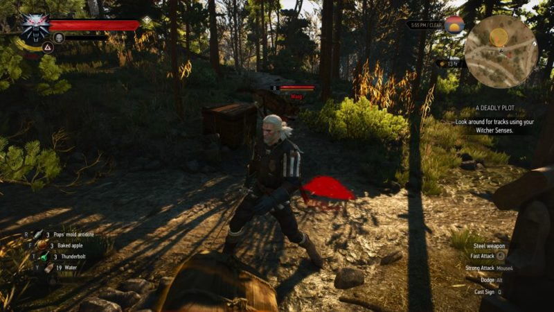 the witcher 3 - a deadly plot tips