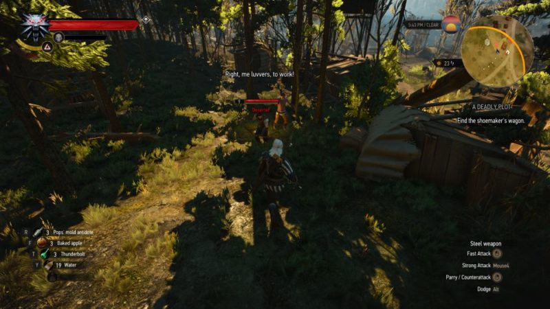 the witcher 3 - a deadly plot wiki