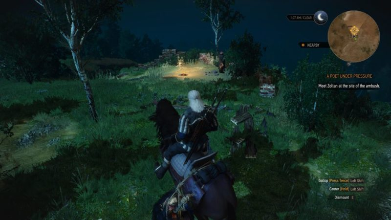 the witcher 3 - a poet under pressure