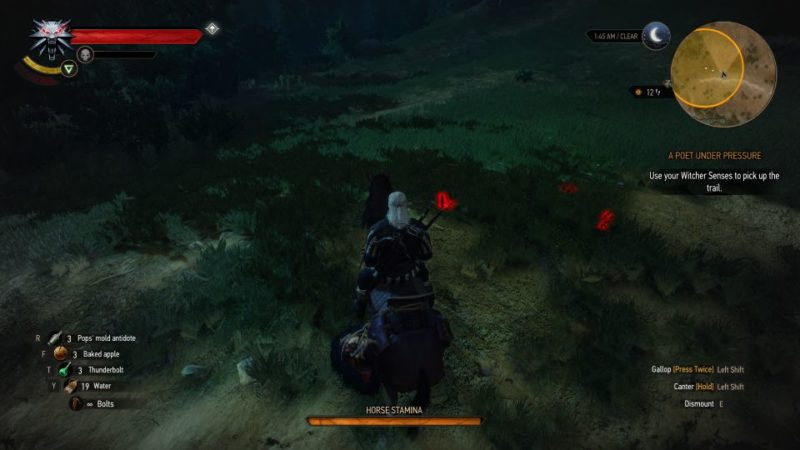 the witcher 3 - a poet under pressure guide and tips